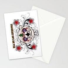 Berto: Dia de los muertos (Day of the dead) Stationery Cards