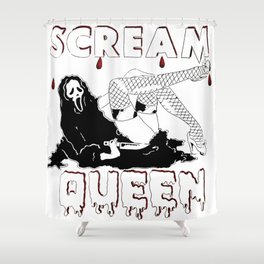 Scream Queen Shower Curtain