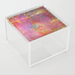 Boho Rose Acrylic Box
