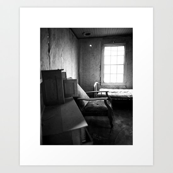 Solitude Chair Art Print