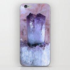 Crystal Purple iPhone & iPod Skin