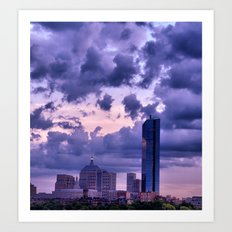 Boston, MA Art Print