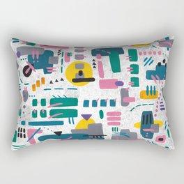 Abstract gouache Rectangular Pillow
