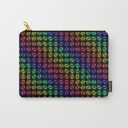 RAINBOW TWISTS Carry-All Pouch