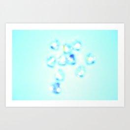 Small Diamonds Art Print