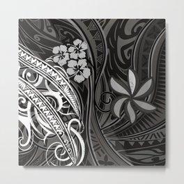 Samoan - Hawaiian - Polynesian Tribal Threads Metal Print