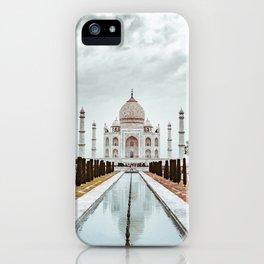 Taj Mahal in India iPhone Case