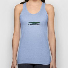 Clearwater Beach. Unisex Tank Top