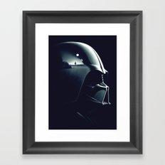 Star War Solider Framed Art Print