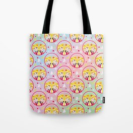 Usagi Tsukino VS Sailor Moon pattern Tote Bag