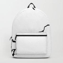 Diagonal Destroyed Light Backpack