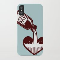 fitzgerald iPhone & iPod Cases featuring F. Scott Fitzgerald by Kip Noschese