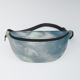 Soft Dreamy Cloudy Sky Fanny Pack