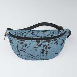 Splat Black on Niagra Boarder Fanny Pack