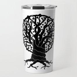 tree with circular branches Travel Mug
