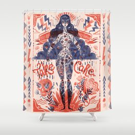Miss Universe Shower Curtain