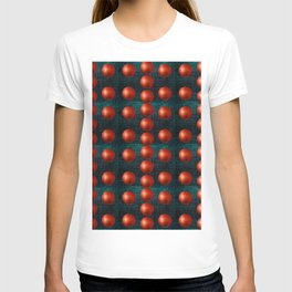 SHINY RED GOLFBALLS T-shirt