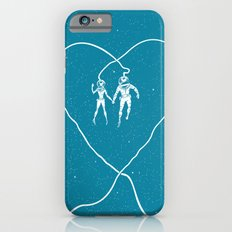 Love Space, Blue iPhone 6s Slim Case