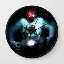 Space Expansion Wall Clock