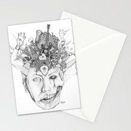 Cerebral Rain Stationery Cards
