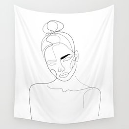 Lined Look Wall Tapestry