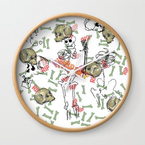 R.I.P. Funky skull joy death thing... I belive  Wall Clock