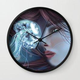 JellyFish Portrait Wall Clock