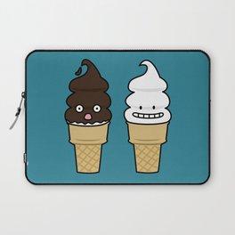 Happy Soft Serve Ice Cream Cones Laptop Sleeve