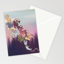 We're off! Stationery Cards