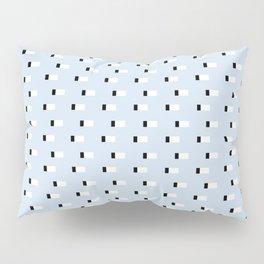 Minimal Squares - Steel Blue Pillow Sham