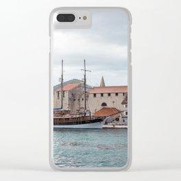 Trogir 1.0 Clear iPhone Case