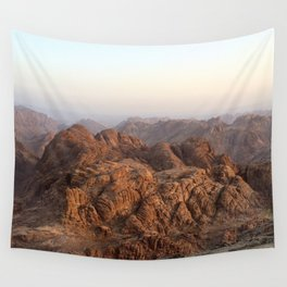 The view from Moses mountain. Sinai. Wall Tapestry