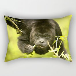 Howler monkey Rectangular Pillow