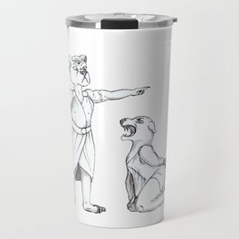 Inktober: Divided + Lioness Travel Mug