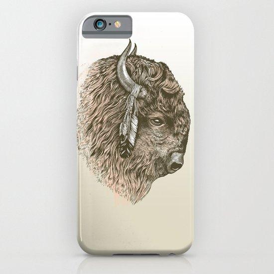 Buffalo Portrait iPhone & iPod Case