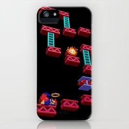 Inside Donkey Kong stage 3 iPhone Case