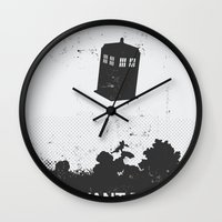 i want to believe Wall Clocks featuring I Want To Believe by Nicolas Beaujouan