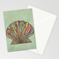 Sea Shell Stationery Cards