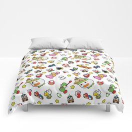 It's a really SUPER Mario pattern! Comforters