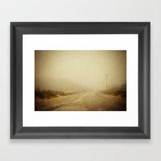 Forgotten Day Framed Art Print