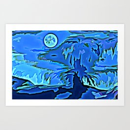 THE FUN OF ABSTRACT Art Print