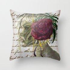 Ambiguous Idol Throw Pillow