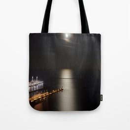 Navy Pier Moonlight Tote Bag