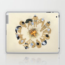 Finding Warmth Together Laptop & iPad Skin