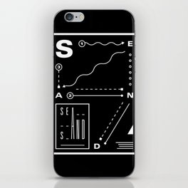 Sea And Sand iPhone Skin