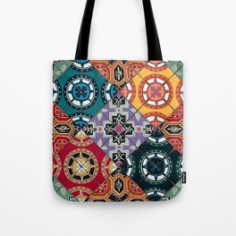 DESEO BOLD spanish tiles Tote Bag