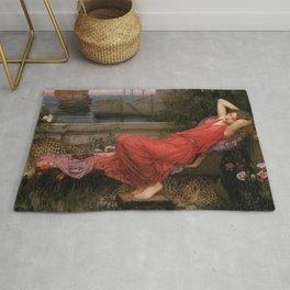 Ariadne, John William Waterhouse Rug