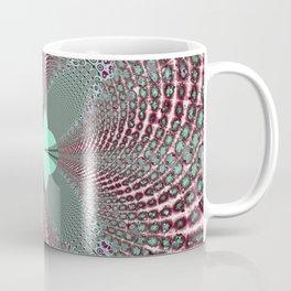 Fractal Quatrefoil Coffee Mug