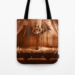 Dark Victorian Portrait Series: The Fallen Star of Vaudeville Tote Bag