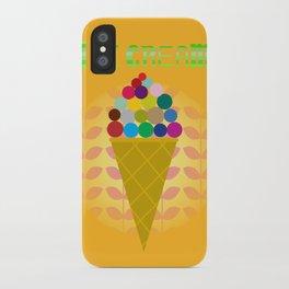 ice cream! iPhone Case